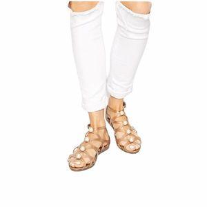 Melissa x Karl lagerfeld-violatta gladiator sandal